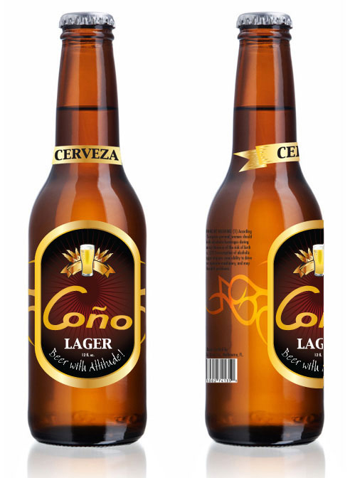 Cono Beer Bottle
