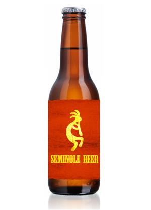 Seminole Beer Bottle